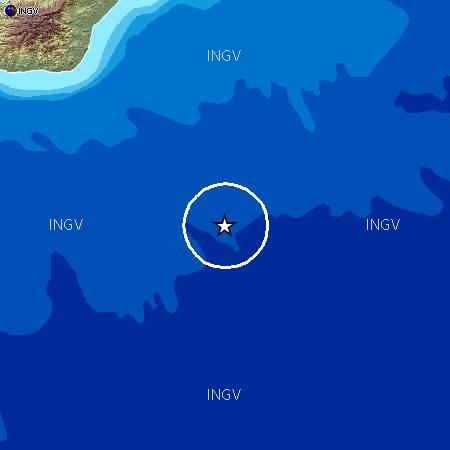 Terremoto nello Ionio di una certa intensità: 4.5 di magnitudo