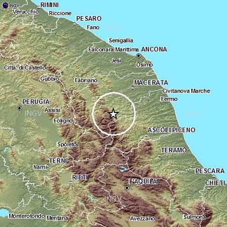 Terremoto di magnitudo 3.4 ad Ascoli Piceno. Avvertita la scossa dalla popolazione