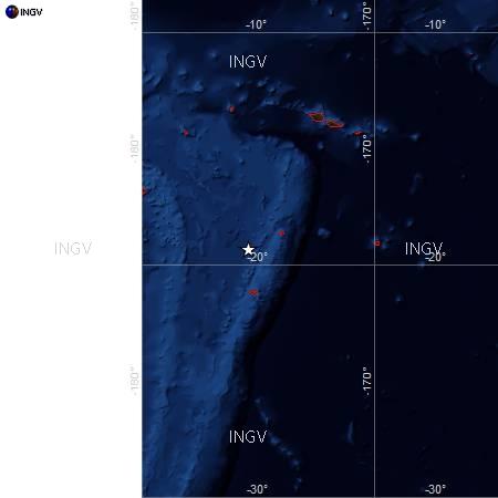 Forte terremoto nelle Isole Tonga: 6.1 di magnitudo. Rischio tsunami?