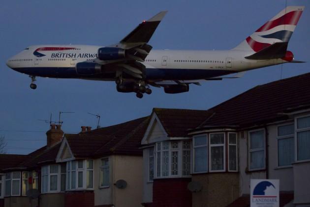 Vittime dell'inquinamento mentre voliamo? Azione legale contro le compagnie aeree britanniche