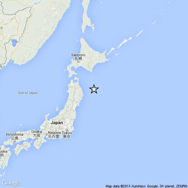 Terremoto di magnitudo 6.0 sulla costa orientale del Giappone
