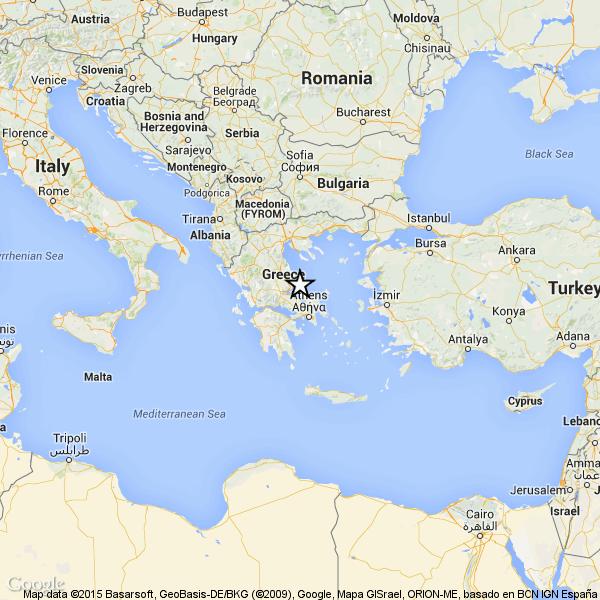 Forte terremoto scuote la Grecia: 5.1