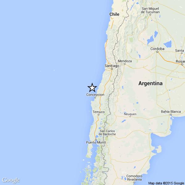 Violento terremoto, 6.5 di magnitudo, scuote di nuovo il Cile nei pressi della costa
