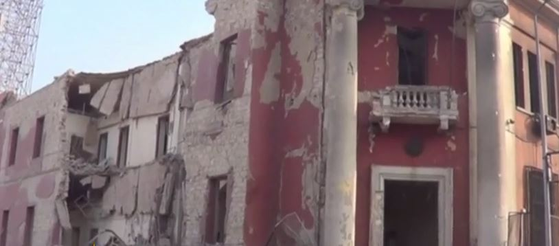 Distrutto da autobomba Consolato italiano al Cairo. Un morto e cinque feriti