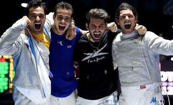 Mondiali di scherma in Russia: grande Italia nella sciabola a squadre. Dopo vent'anni torna l'oro