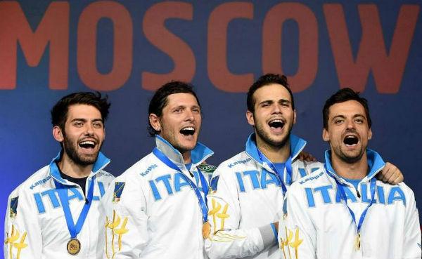 Dopo 20 anni l'Italia trionfa con l'oro nella sciabola ai mondiali di scherma
