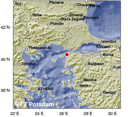 Si ripetono forti scosse di terremoto in Turchia sopra i 4 gradi di magnitudo