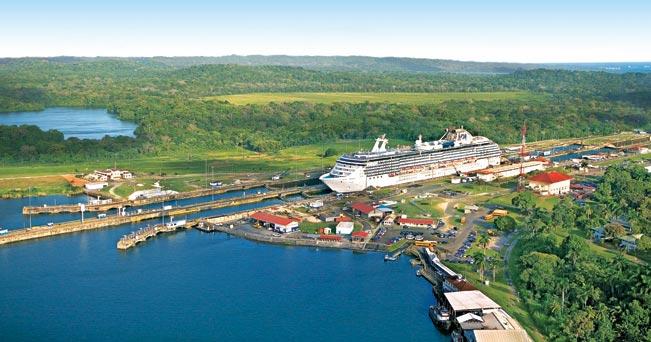 Panama: la carenza d'acqua del Canale farà ridurre il numero di navi autorizzate al passaggio