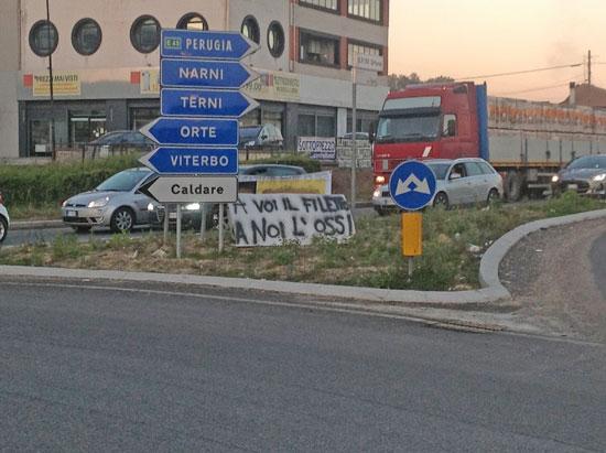 Italia divisa in due per una bomba da disinnescare vicino Roma