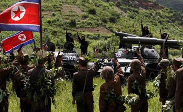Scambio di cannonate tra le due Coree. Inizia il Nord, risponde il Sud
