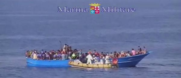 Confermata la morte di 40 migranti asfissiati sul barcone sovraffollato