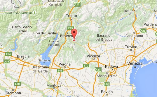 Terremoto nel Trentino. Avvertito anche nel Veneto
