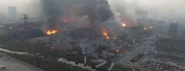 Tianjin: 50 morti, 700 feriti. 3.500 sfollati. Si teme contaminazione chimica per 7, 5 milioni di abitanti