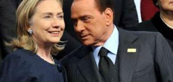 Tra le mail di Hillary Clinton spunta fuori pure Berlusconi, per niente amato da Obama e dai suoi