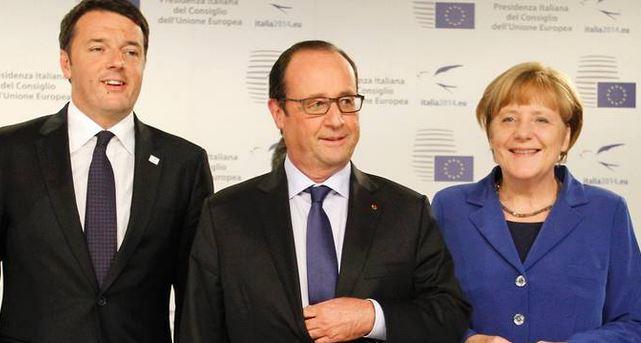 Rispunta l'intesa di Germania-Francia-Italia per dare all'Europa quello che è dell'Europa. Grillo difende il fascista Orban e scavalca la Merkel a destra. Bruxelles ci riprova ad accaparrarsi la sovranità della politica fiscale, per una volta l'Italia dice no