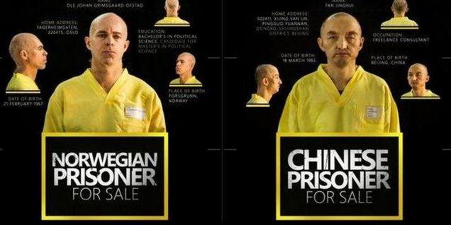 """Isis """"vende"""" due prigionieri e pubblica richiesta di riscatto di un norvegese e un cinese catturati in Siria"""