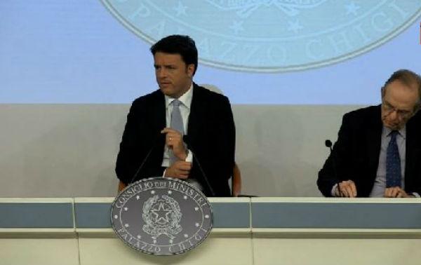 Renzi presenta la Legge di stabilità. Manovra tra i 27 e i 30 miliardi