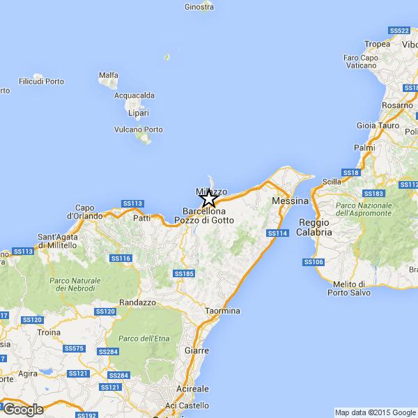 Terremoto a Messina. Scossa ben avvertita dalla popolazione, ma senza danni