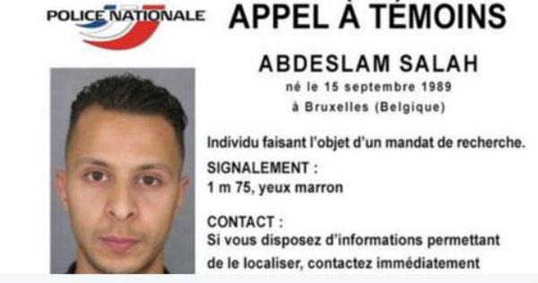 Attentati Parigi: il ricercato n° 1. Potrebbe anche essere fuggito verso l'Italia. La foto