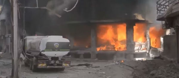 Siria: bombardamenti russo siriani provocano 35 morti ai sobborghi di Damasco