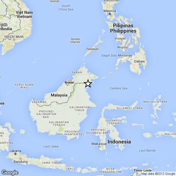 Nuovo terremoto nel Borneo: magnitudo 6.2