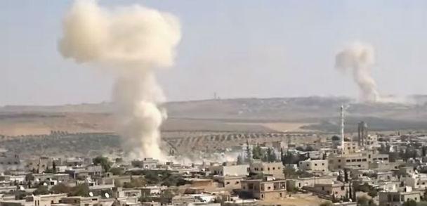 Siria: bombardamento della Russia provoca 43 morti e 100 feriti