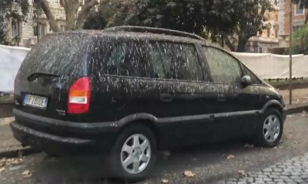 La pioggia salva dallo smog. Napoli riapre al traffico. A Roma il pericolo viene sempre dal cielo: il guano