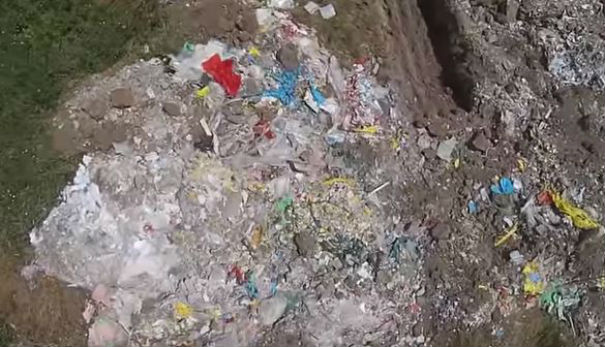 I droni fanno scoprire enorme discarica abusiva in Abruzzo