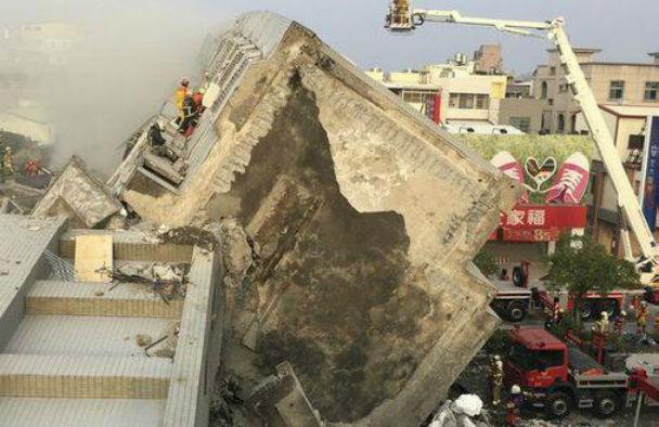 Taiwan: saliti a 7 i morti del sisma devastante. 300 i feriti