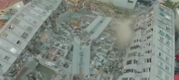 Terremoto a Taiwan: 14 i morti. 30 dispersi
