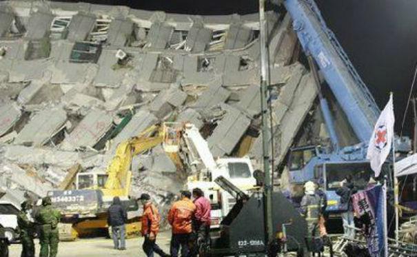 Terremoto a Taiwan: terribile bilancio con 20 morti, 124 dispersi, 500 feriti