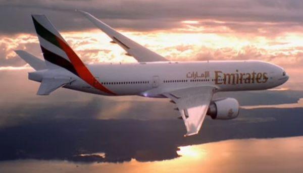 Emirates fa volo di 14.200 km senza scalo da Dubai a Auckland