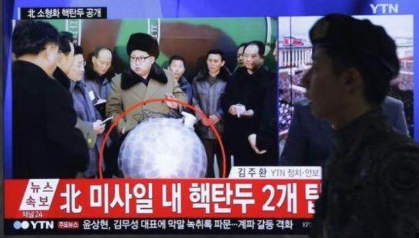 Corea del Nord sostiene di avere armi atomiche miniaturizzate da lanciare in tutto il mondo