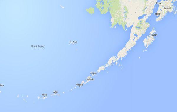 Violento terremoto in Alaska. Non c'é allarme tsunami