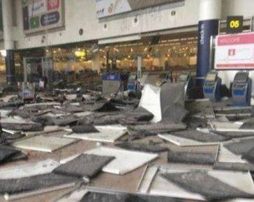 Bruxelles: secondo voci sarebbero 11 i morti all'aeroporto per due bombe