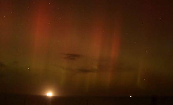Eccezionali fenomeni di Aurora boreale in Scozia e Nord Irlanda