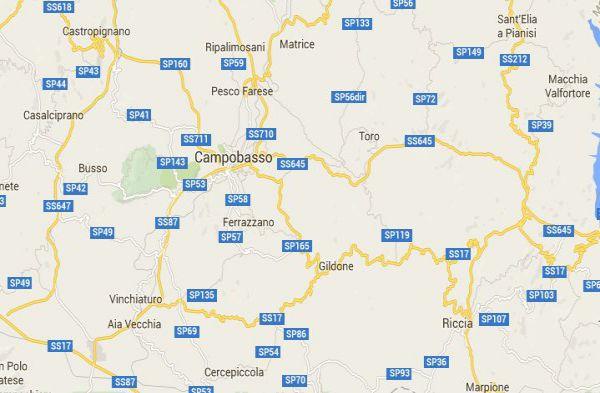 Terremoto in centro Italia, a Campobasso