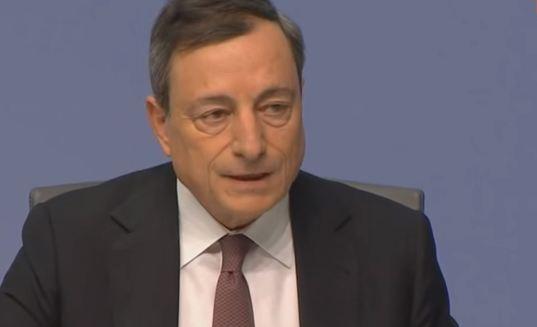 Le borse volano e poi si fermano, ma Draghi vuole la ripresa
