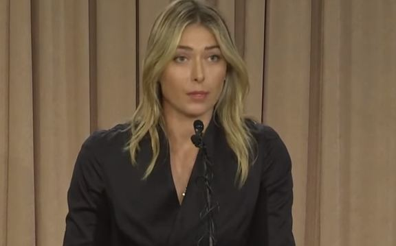 La Sharapova positiva ai test antidoping