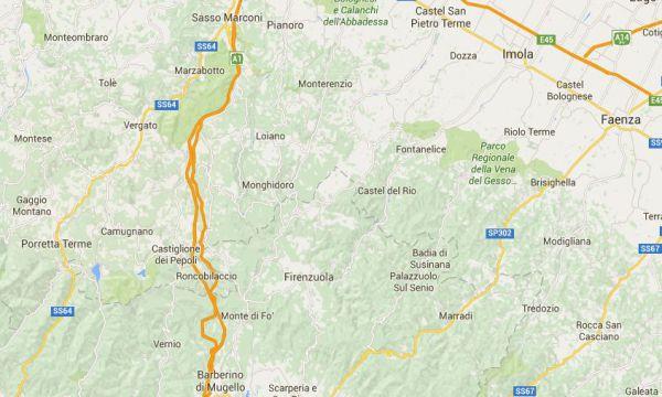 Tre scosse di terremoto tra Bologna e Firenze