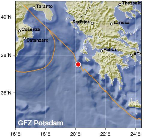 Violento terremoto nel Mar Ionio: 5.2. Poi scossa in Sicilia
