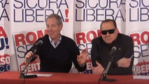 Berlusconi: alla fine fu Marchini. FI abbandona Bertolaso
