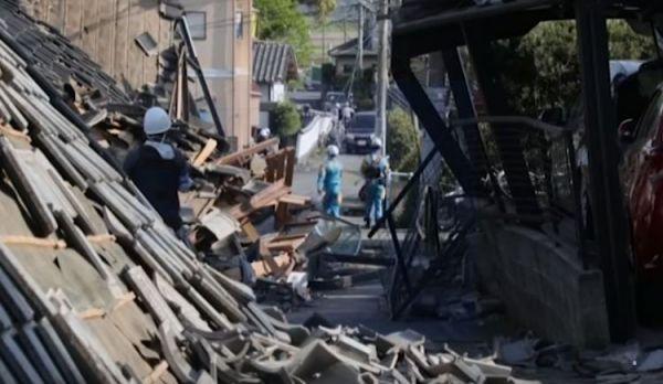 Giappone: scattato anche allarme nucleare per forte terremoto nel sud