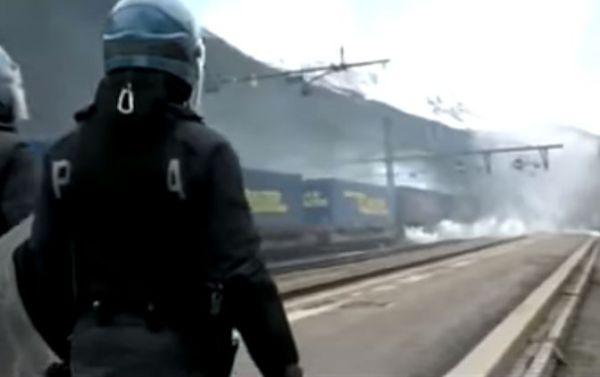 Brennero: scontri con feriti e arresti