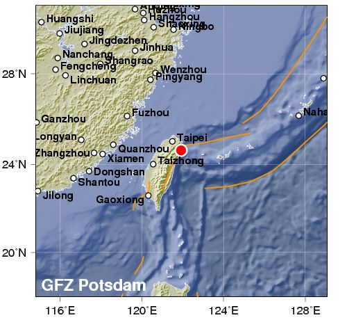 Forti terremoti in Tibet e a Taiwan, con crolli e feriti