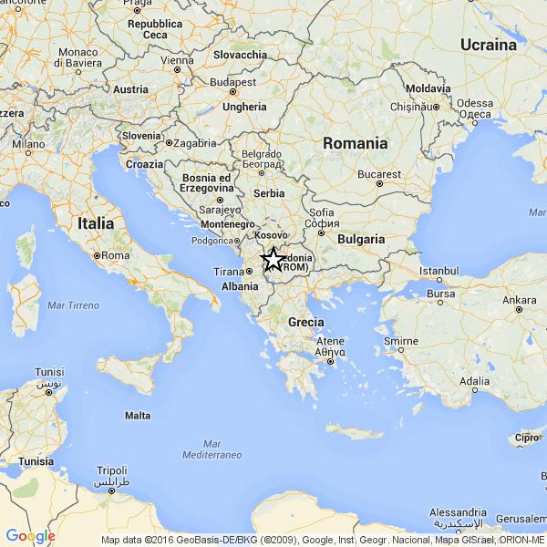 Terremoti in Albania. Tremori in Puglia