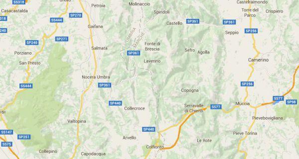 Terremoto tra Marche e Umbria