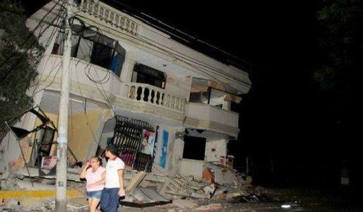 Violento sisma scuote l'Ecuador. Un mese fa 660 morti