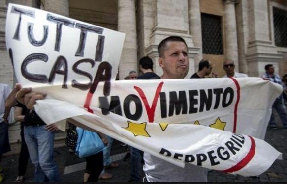 Amministrative: batosta Pd. Roma e Torino 5 Stelle