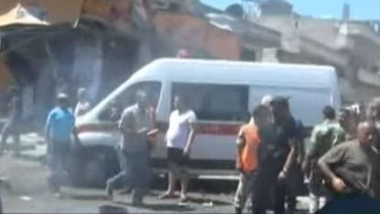 Siria: attentato contro moschea con morti e feriti
